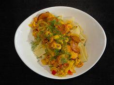 Skaldjurspasta med kräftor, räkor och musslor | Recept från Köket.se