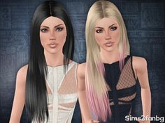 Sims 3 Finds - Hair 14 -free by sims2fanbg at The Sims Resource