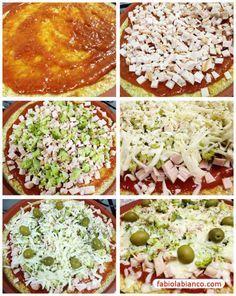 Pizza Light | Fabíola Bianco