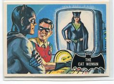 1989 Batman The Cat Woman Trading Card - TripleGCollectibles, $2.00