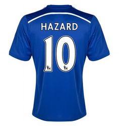 Eden Hazard Chelsea Home Soccer Jersey 2014 - 2015