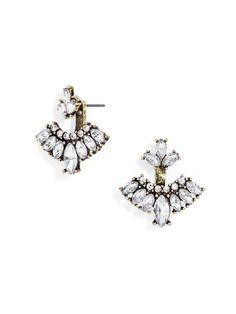 Mariposa Ear Jackets Earring | BaubleBar