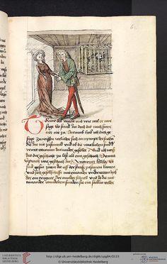 Cod. Pal. germ. 84: Antonius von Pforr: Buch der Beispiele ; Passionsgebet (Schwaben , um 1475/1482), Fol 62r