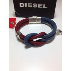 pulsera diesel unisex  www.relojesplatayacero.com