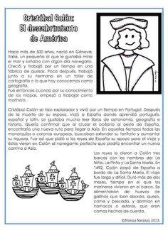 https://www.teacherspayteachers.com/Product/Cristobal-Colon-El-descubrimiento-de-America-906086