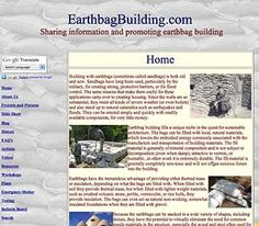 """""""For several years, Kelly and I have been filtering all the best earthbag content from the Web, writing extensively on all aspects of earthbag building and organizing the information for readers. There's now an enormous amount of information available – so much that it's difficult to keep up with everything. That's one reason why our sites are helpful. We gather the best information so you don't have to spend endless hours looking for it, wasting time clicking through low quality sites, blur..."""