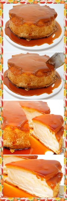 Mexican Food Recipes, Sweet Recipes, Ethnic Recipes, Fun Desserts, Dessert Recipes, Fab Cakes, Sugar Cake, Flan, Cakes And More