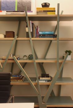 Escritório Paula Neder Arquitetos Associados #shelves