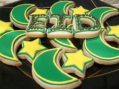 Ramadan and Eid Cookies