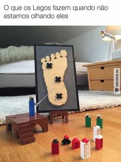 What Legos do when we're not watching them