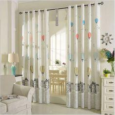 Polyester Cotton Curtains for Children Korean Style Window Treatments Cartoon Balloon Pattern Window Curtain for Kids Bedroom-in Curtains from Home & Garden on Aliexpress.com | Alibaba Group