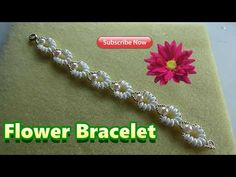 Floral Tubular netted Bracelet - YouTube