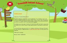 Townhill Welcome Page by Primarysite.net