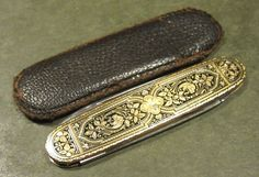 Vintage JA Henckels Solingen Germany Toledo Art Deco Old German Pocket Pen Knife #JAHenckels