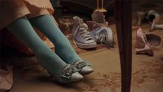 In one scene while Marie Antoinette is getting ready, a pair of blue Converse tennis shoes are visible in the scene. Sofia Coppola has stated in interviews that the shoes were purposely put in the. Converse All Star, Converse Tennis Shoes, Purple Converse, Cheap Converse, Converse Sneakers, Converse Chuck, Teal Shoes, Converse High, Manolo Blahnik