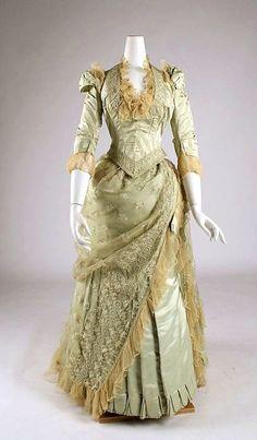 Victorian 1880s #historical #costume