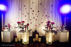 Priscila Lavor: Decoração - Casamento Vermelho e Branco