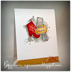 Gimme Some Sugar - Cardmaking stamp set which I'm now turning into thank you cards...