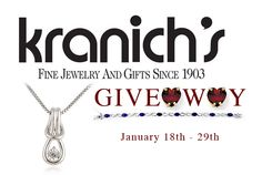 2 HOURS LEFT TO JOIN!! Win a Kranich's Jewelry Valued $150! Open US