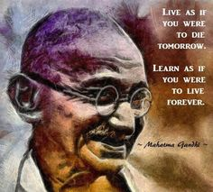 Inspiration from Ghandi