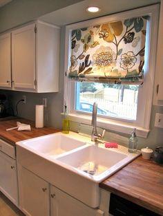 kitchen curtains!