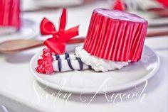 Absolutely adorable - cupcakes from a Wizard of Oz Party via Kara's Party Ideas | KarasPartyIdeas.com