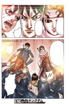 kingdom shin and kyoukai-KaRyoTen by ahmedxadel on DeviantArt Artist At Work, Manga Anime, Cool Art, Deviantart, Color, Colour, Colors