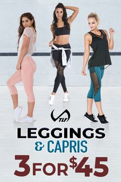 e3936a6e2253c No Subscription Needed! Buy 3 Leggings  amp  Capris for ONLY  45 + FREE  Shipping