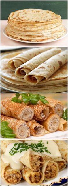 PANQUECA SEM FARINHA: aprenda a fazer a massa e o recheio, uma receitinha deliciosa que fica pronta em 10 minutos! (veja o passo a passo) #panqueca #pancakes #salgados #receita #gastronomia #culinaria #comida #delicia #receitafacil