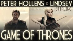 Game of Thrones - Lindsey Stirling & Peter Hollens (Cover) - @ChristinaSketch have you heard this one?