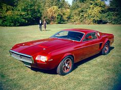 1965 Mach 1 Mustang prototype---ugly but 71 Mach 1 is my dream car so it's cool to see the prototype