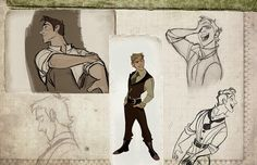 """Once Upon A Blog...: (Old) Animation Development Art for """"Wicked"""" by Disney Artist Minkyu Lee"""