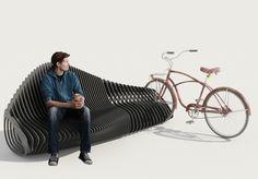 Parametric Bike Stand le banc à vélo