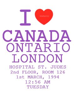 We Love Canada! We Love Justin Bieber!