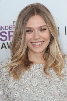 Dark blonde with soft, natural highlights...on trend for spring!