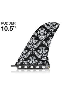 """10.5"""""""" Rudder Collection Shapers Fins Longboard Fin"""