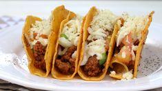 Mini Tacos, Carne Picada, Ethnic Recipes, T5, Food, Drink, Videos, Home, Steak Tacos