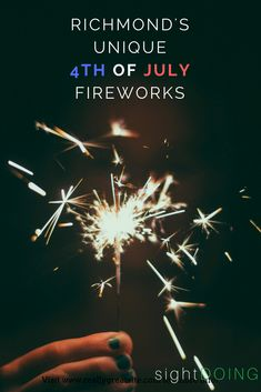 The fireworks in Richmond VA are one-of-a-kind! Find out what makes these Virginia events so unique on the 4th of July (fourth of July / independence day)