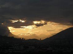 Atardecer en la Cd De Monterrey