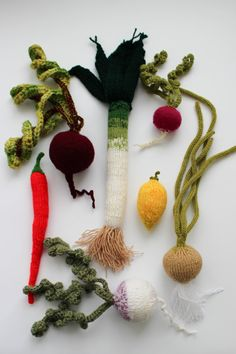 Pretend play vegetables Waldorf soft toy by MapleApple on Etsy