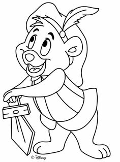 gummi bears disney coloring sheetsgummi