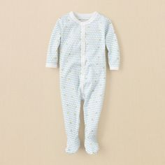 newborn - layette - Burts Bees Baby mini bee coverall | Childrens Clothing | Kids Clothes | The Childrens Place