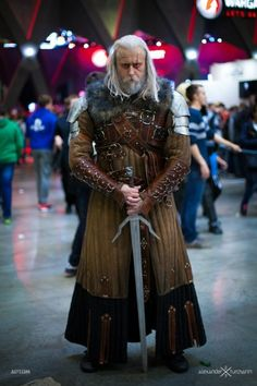 Awesome Witcher cosplay from Russia!