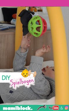 DIY Spielbogen basteln DIY DIY play bow: This play bow deals with babies in a playful way and is ver Baby Room Boy, Baby Room Decor, Diy Tumblr, Dandelion Wall Decal, Game Room Kids, Colorful Playroom, Diys, Deco Nature, Diy Bebe