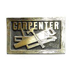 Carpenter Original Lewis Solid Brass Belt Buckle