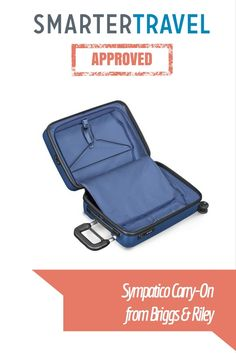 This hardsided bag can expand for up to 22% more space, and then easily compress back down to its original size.