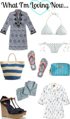 5d3f1723815 CHIC COASTAL LIVING  Summer Blues... Beach Vacation Outfits