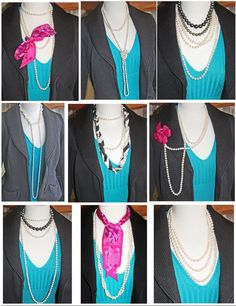 How to Wear Multi Strands & Long Rope Pearl Necklaces