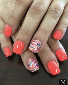 Nails ideas 66 gel nails designs that are all your fingertips need to steal the show 61 – . All you need to play the 66 gel nail design at your fingertips 61 - JANDAJOSS. Cute Nail Colors, Spring Nail Art, Nail Summer, Summer Shellac Nails, Bright Summer Gel Nails, Nails Summer Colors, Pedicure Summer, Color Nails, Shellac Pedicure