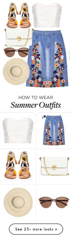 """""""Untitled #736"""" by victoriaam99 on Polyvore featuring The Great, Pierre Hardy, Tory Burch and Witchery"""